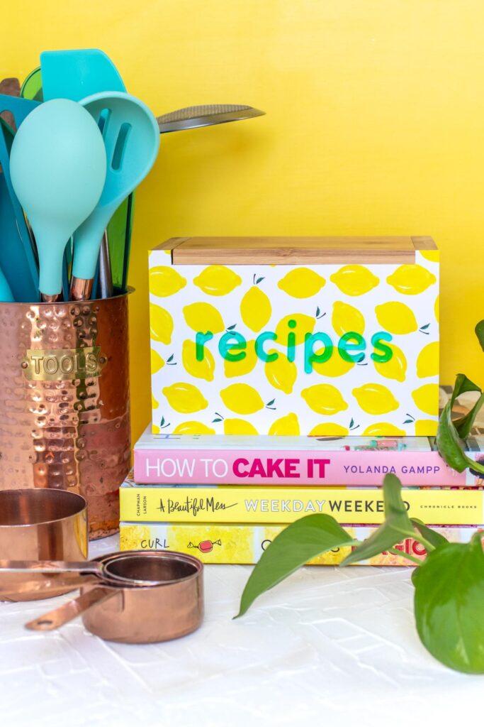 DIY-Rezeptbox-für-Mama