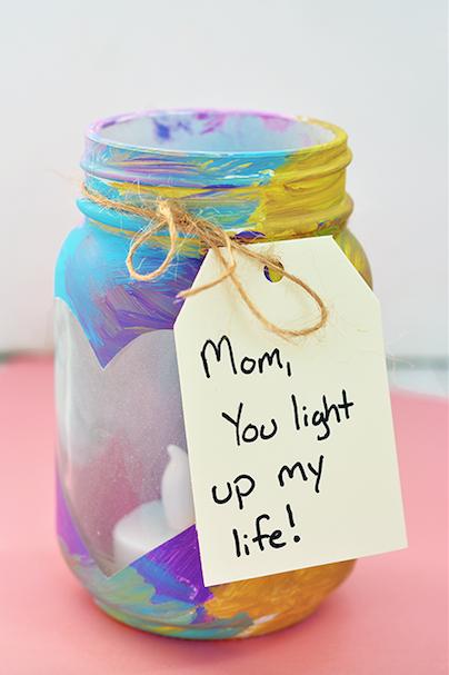 Muttertag-Einmachglas-Bastelarbeiten-für-Kinder