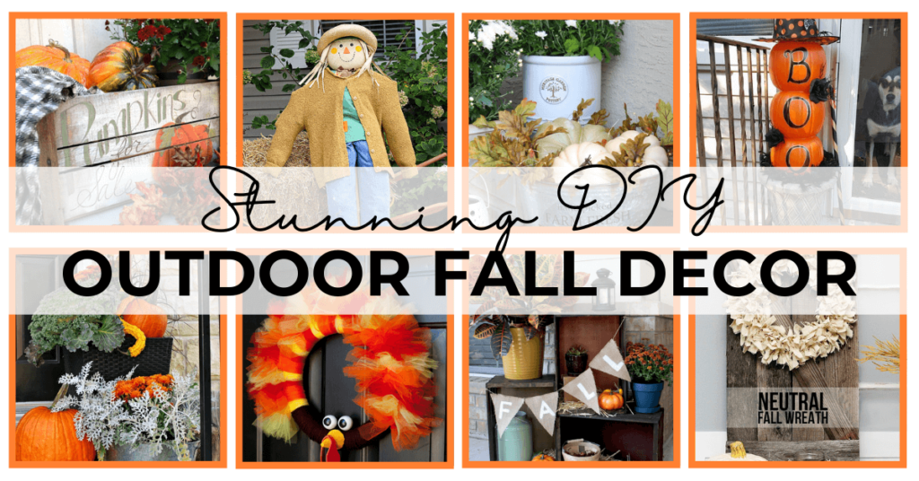 59 - easy outdoor fall decor