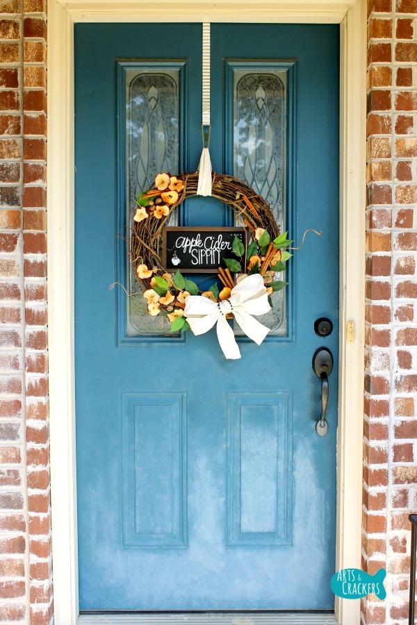 Fall Decor Outdoor Wreath