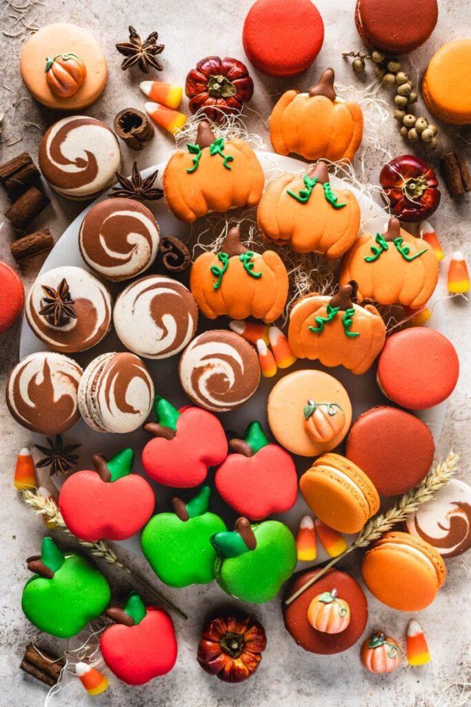 Fall-macarons
