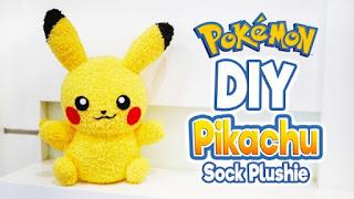 Pokemon sock toy craft