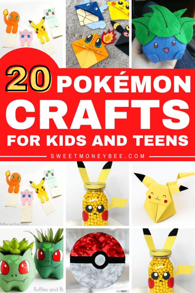 easy diy pokemon crafts