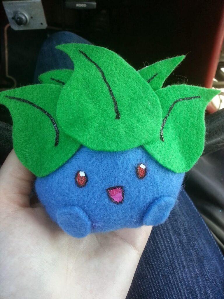 oddish plushie craft
