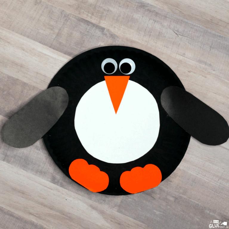 paper penguin crafts
