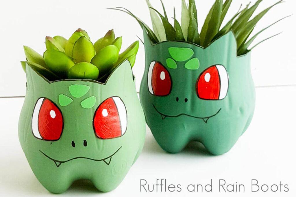 pokemon bulbasaur planter craft