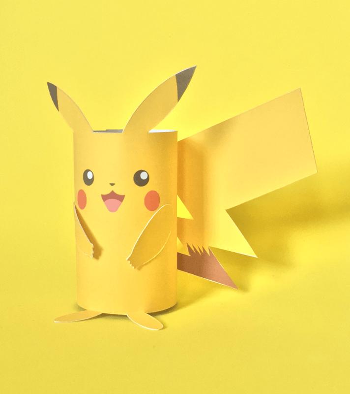 pokemon paper toilet craft