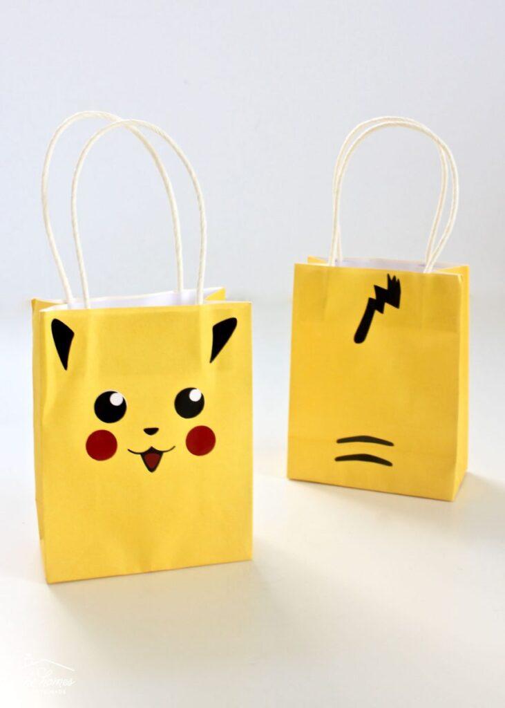 pokemon party bag craft
