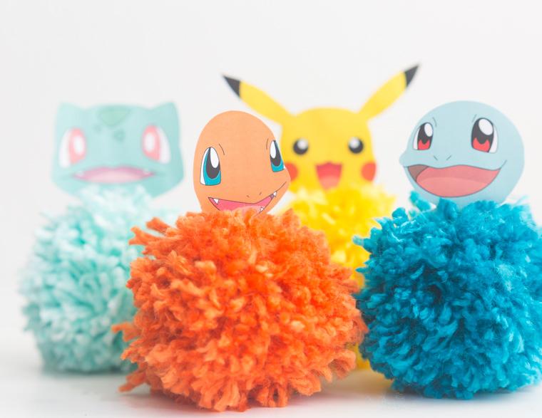 pokemon pom pom craft