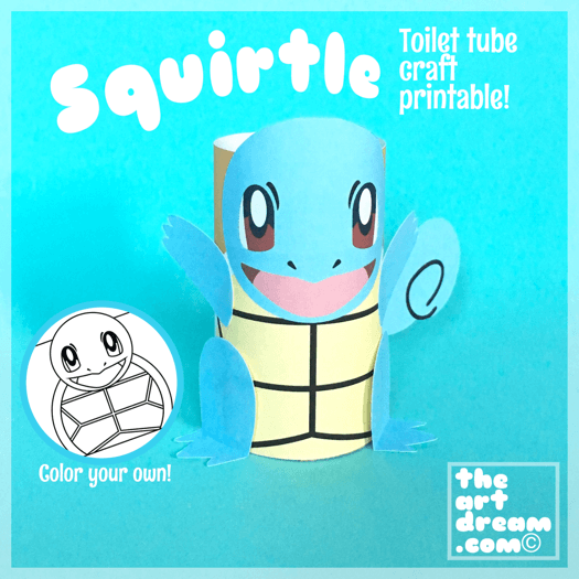 squirtle pokemon craft