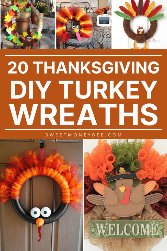 thanksgiving turkey wreath