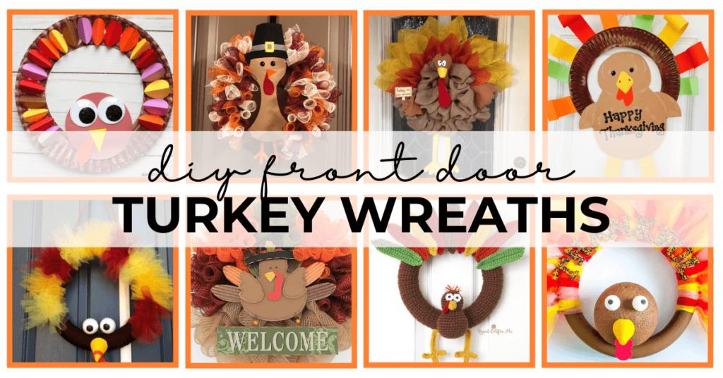 thanksgiving turkey wreaths