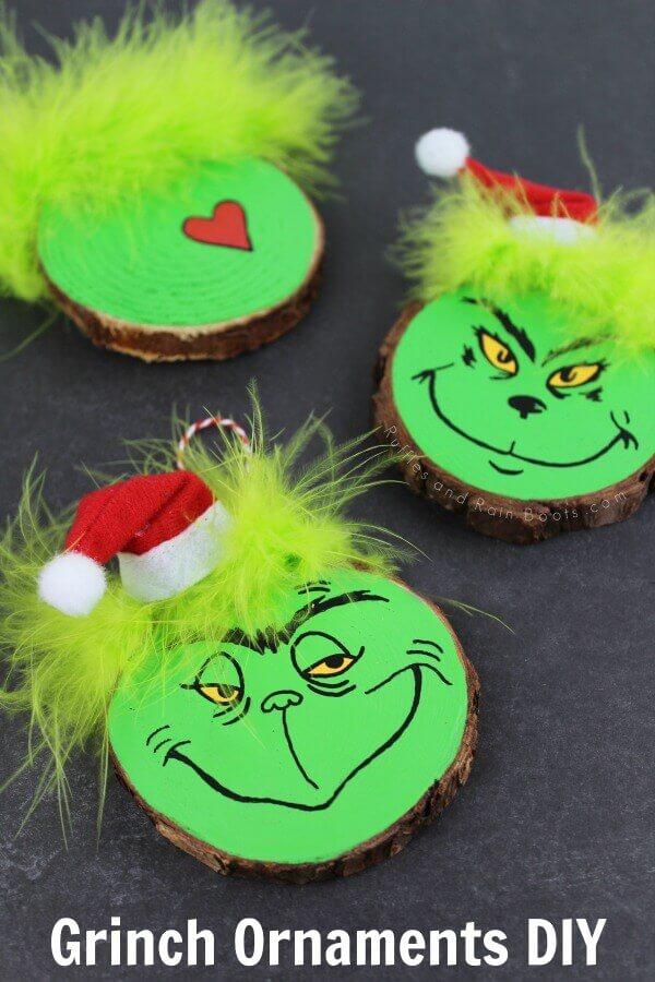 DIY-Grinch-Ornaments-Set