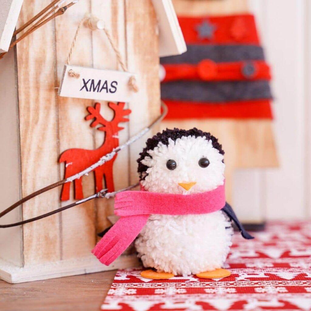 Pom-Pom-Penguin