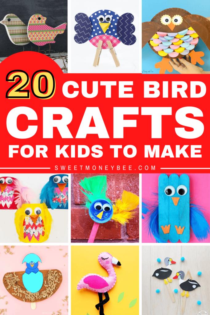 bird crafts pinterest