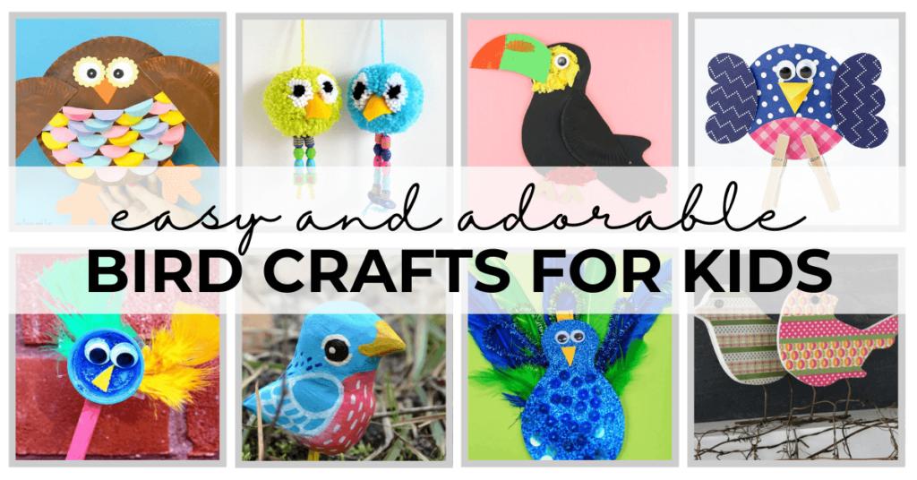 bird crafts diy
