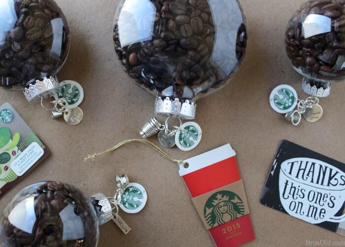 coffee bean ornament craft