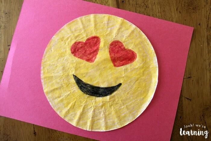coffee crafts with filter emoji