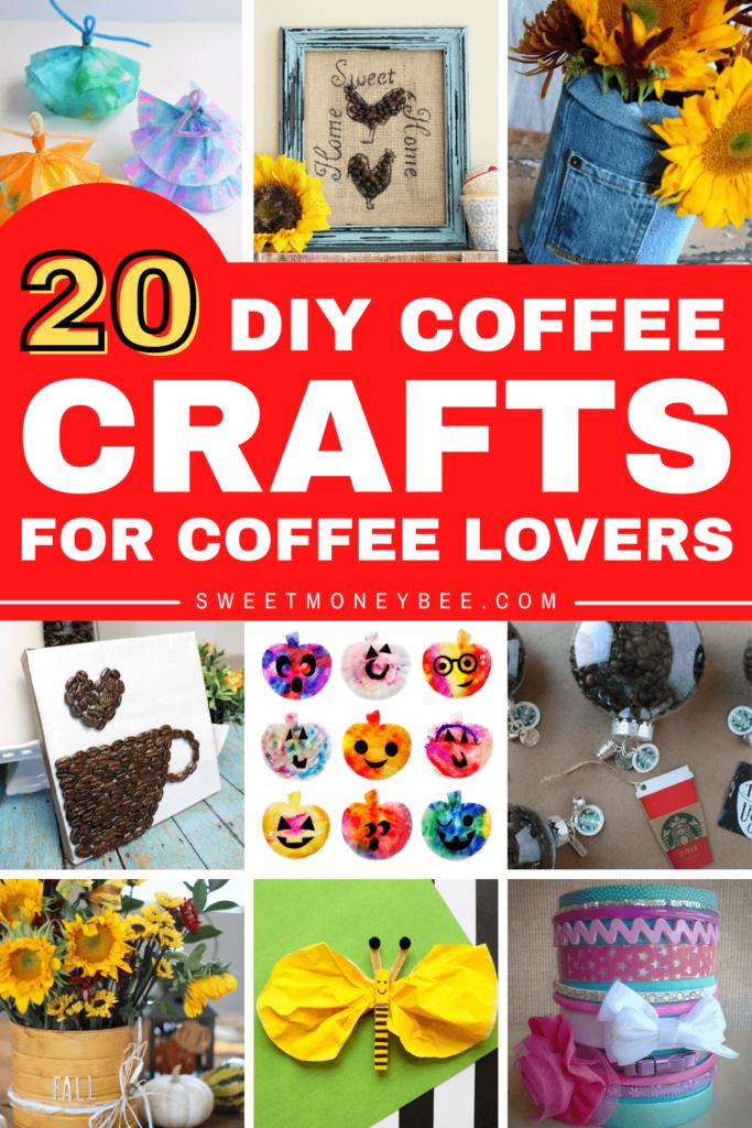 diy coffee crafts