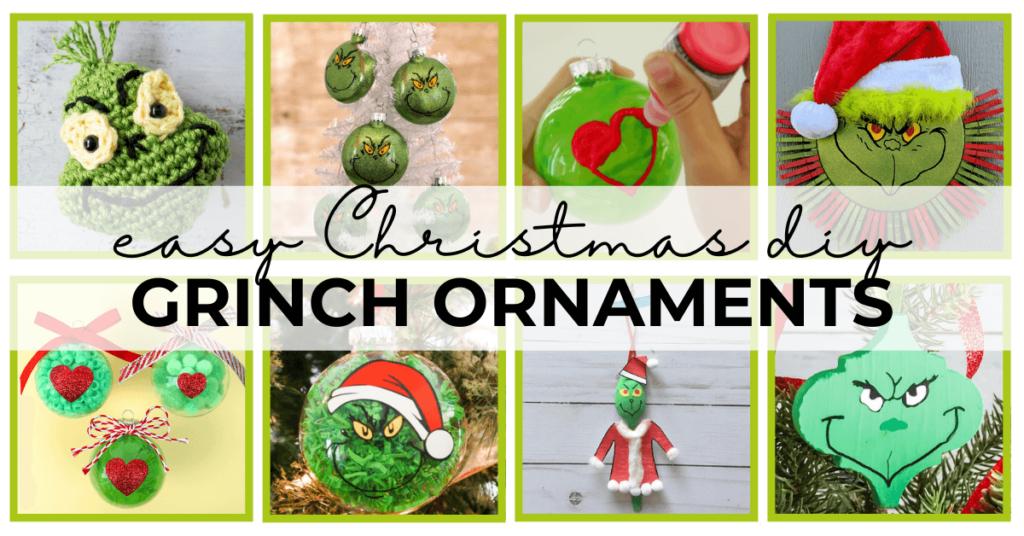 diy grinch ornaments