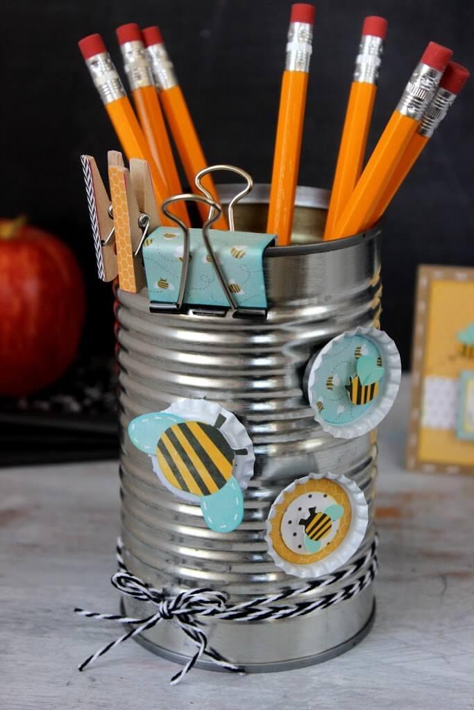 diy pencil holder coffee craft