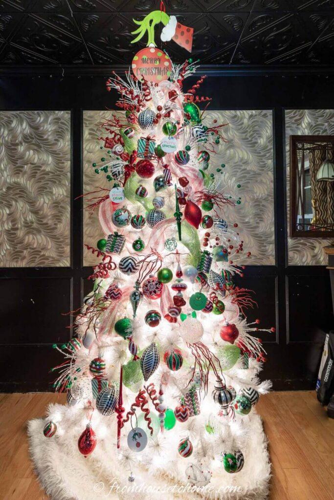 grinch christmas tree decoration diy