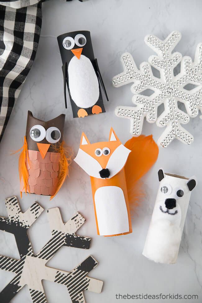 penguin animal craft