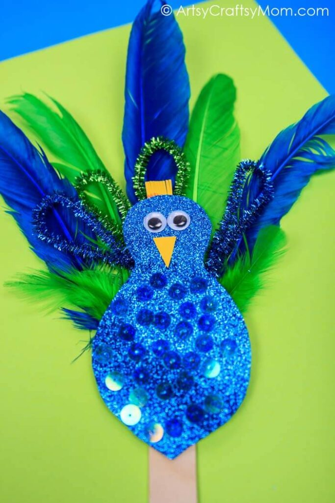 pipecleaner birds crafts