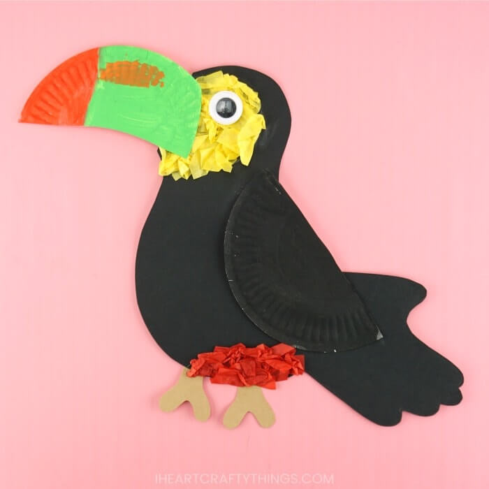 toucan bird craft