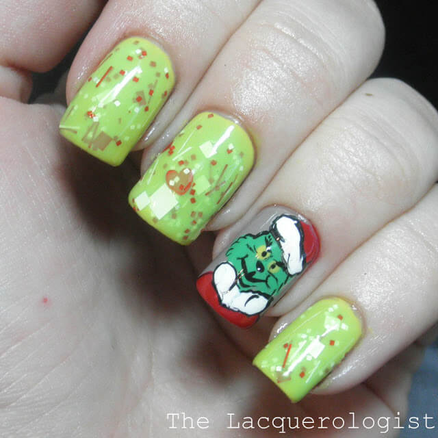 grinch and the grinch nails