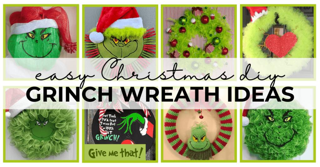 grinch wreath ideas